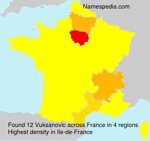 Vuksanovic - Names Encyclopedia