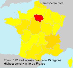 Zadi - Names Encyclopedia