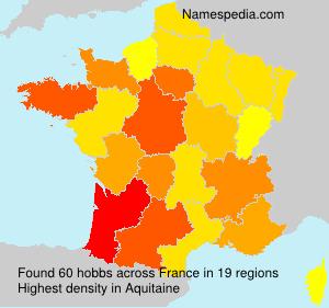 Familiennamen hobbs - France