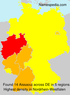 Surname Aissaoui in Germany
