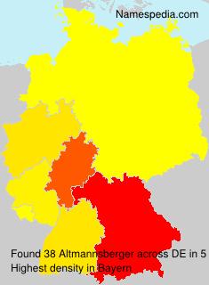Altmannsberger