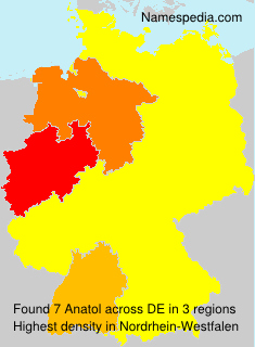 Surname Anatol in Germany