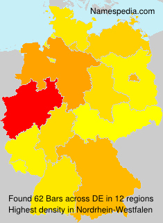 Surname Bars in Germany