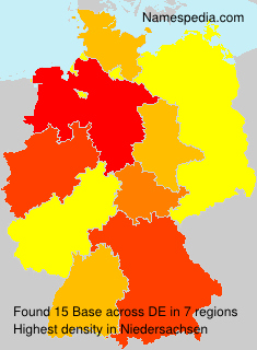 Surname Base in Germany