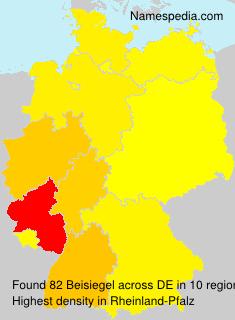 Surname Beisiegel in Germany