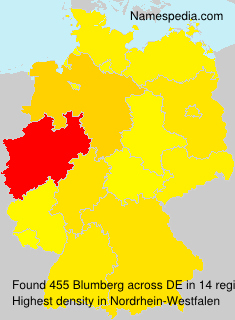 Familiennamen Blumberg - Germany