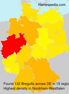 Surname Bregulla in Germany
