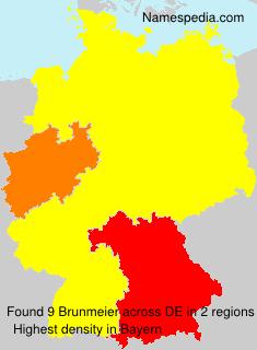 Familiennamen Brunmeier - Germany