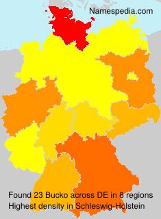 Familiennamen Bucko - Germany