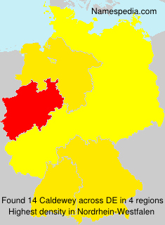 Surname Caldewey in Germany