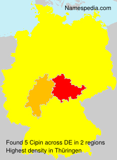Surname Cipin in Germany