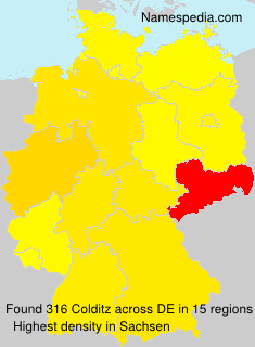 Surname Colditz in Germany