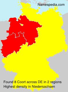 Surname Coort in Germany