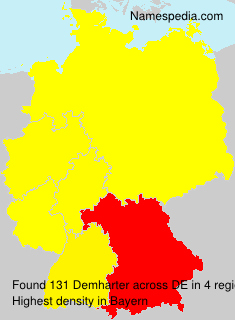 Surname Demharter in Germany
