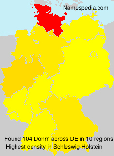 Surname Dohrn in Germany