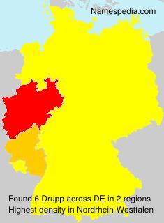 Surname Drupp in Germany