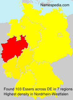 Surname Essers in Germany