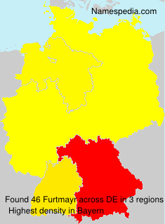 Surname Furtmayr in Germany