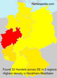 Surname Handels in Germany
