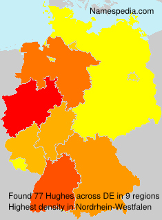 Familiennamen Hughes - Germany
