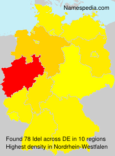 Surname Idel in Germany