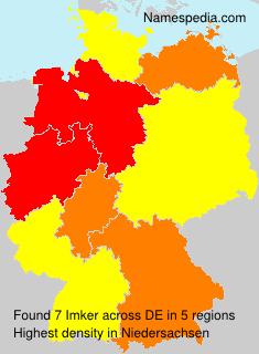 Surname Imker in Germany