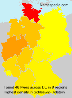 Familiennamen Iwers - Germany