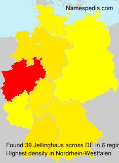 Familiennamen Jellinghaus - Germany