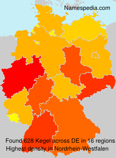 Familiennamen Kegel - Germany