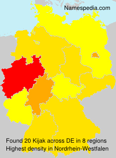 Surname Kijak in Germany