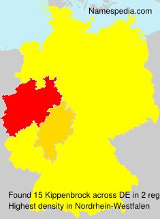 Surname Kippenbrock in Germany
