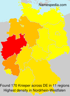 Surname Knieper in Germany