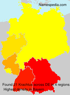 Surname Krachtus in Germany