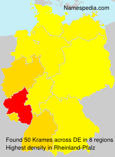 Surname Krames in Germany