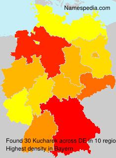 Surname Kucharek in Germany