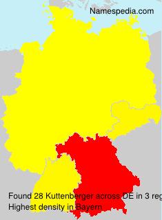 Familiennamen Kuttenberger - Germany