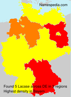 Surname Lacase in Germany