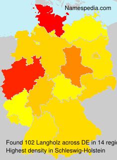 Langholz
