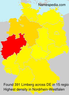 Surname Limberg in Germany