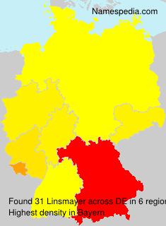Surname Linsmayer in Germany