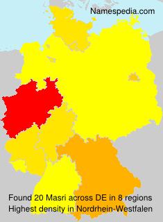 Surname Masri in Germany