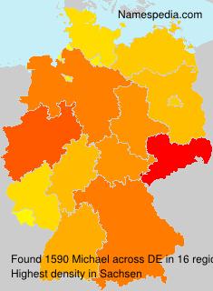 Familiennamen Michael - Germany