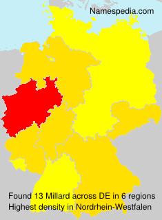 Surname Millard in Germany