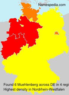 Familiennamen Muehlenberg - Germany