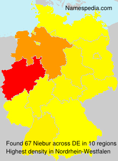 Surname Niebur in Germany