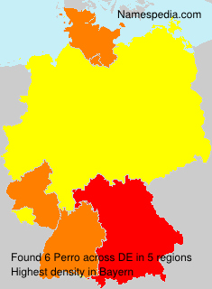 Surname Perro in Germany