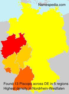 Surname Piscopo in Germany