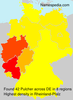 Surname Pulcher in Germany