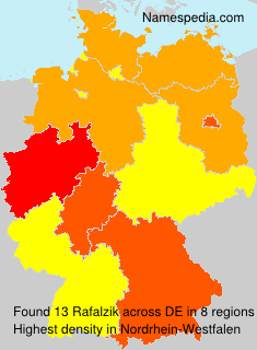 Surname Rafalzik in Germany