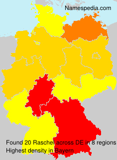Surname Raschel in Germany